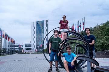 IOI 2016 Team at Universiade Village